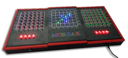 very first prototype of multiplayer game morbak